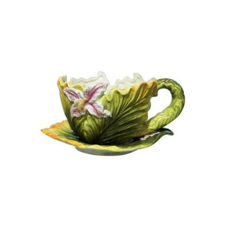 Купить Кашпо декоративное Valenсia «Цветок лилии»