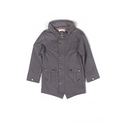 Купить Куртка детская для мальчика Appaman Wiley Raincoat. Цвет: серый