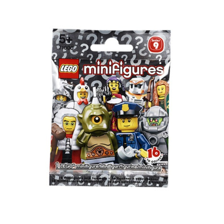 Купить Конструктор LEGO Mini Figures серия 9. В ассортименте