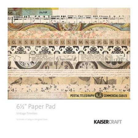 Купить Набор бумаги для скрапбукинга Kaisercraft Vintage Timeless