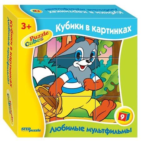 Купить Кубики развивающие Step Puzzle «Любимые мультфильмы-1»