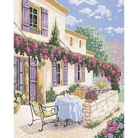 Купить Канва с нанесенным рисунком Collection D'art 11433