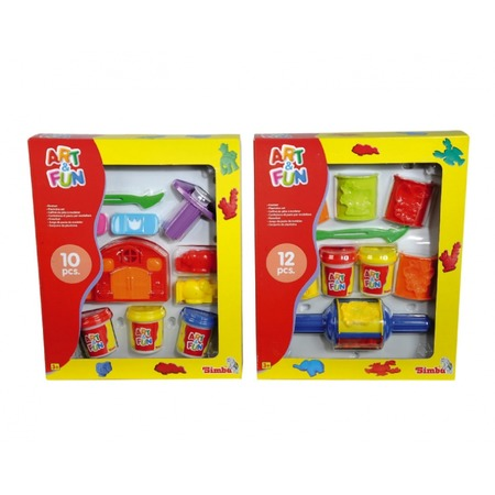Купить Пластилин с формочками Simba 6320187. В ассортименте