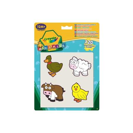 Купить Набор больших стикеров Crayola «Животные»