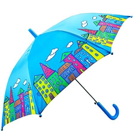 Купить Зонтик детский Mary Poppins «Домики»