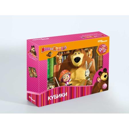 Купить Кубики Step Puzzle «Маша и Медведь» 87134