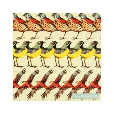 Купить Салфетки бумажные для декупажа IHR «Британские птицы»