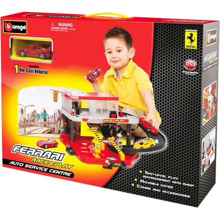 Купить Игровой набор Bburago Автосервис