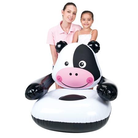 Купить Кресло надувное детское Bestway Коровка 75025B