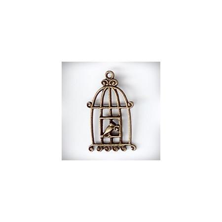 Купить Подвеска металлическая Ars Hobby «Клетка с птичкой 3»