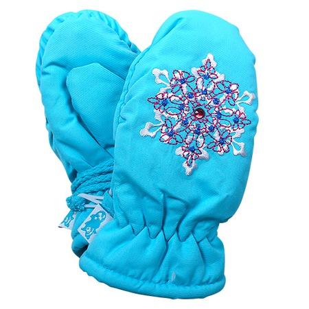 Купить Рукавицы для девочек ЧУДО-КРОХА «Снежинка»