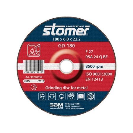 Купить Диск шлифовальный Stomer по металлу