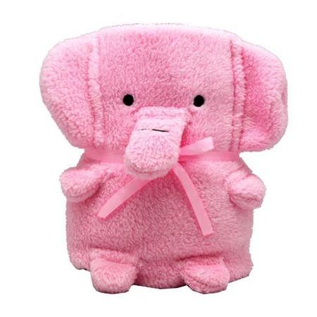 Купить Плед-игрушка Coool Toys «Розовый слоник»