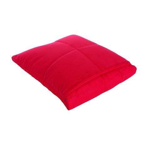 Фото Подушка-одеяло Dormeo Flip. Цвет: красный