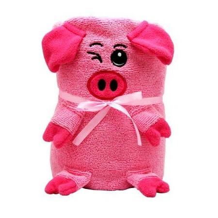 Купить Полотенце-игрушка Coool Toys «Розовая свинка»