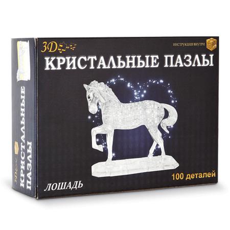 Купить Кристальный пазл 3D Crystal Puzzle «Конь». В ассортименте