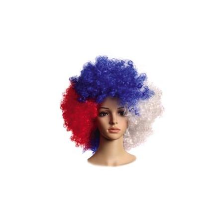 Купить Парик Шампания «Российский флаг»