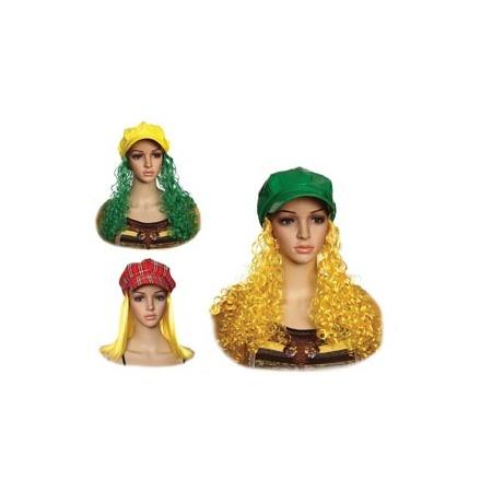 Купить Кепка женская Шампания «С волосами». В ассортименте