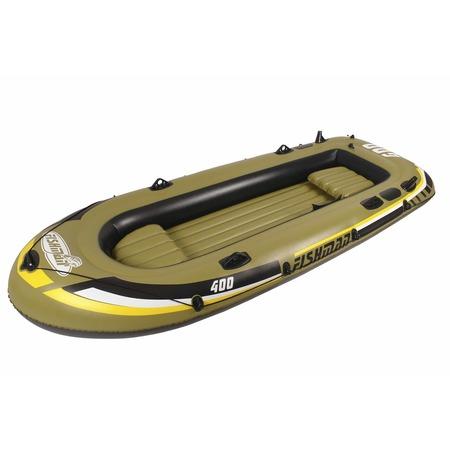 Купить Лодка надувная Jilong Fishman 400 Boat Set