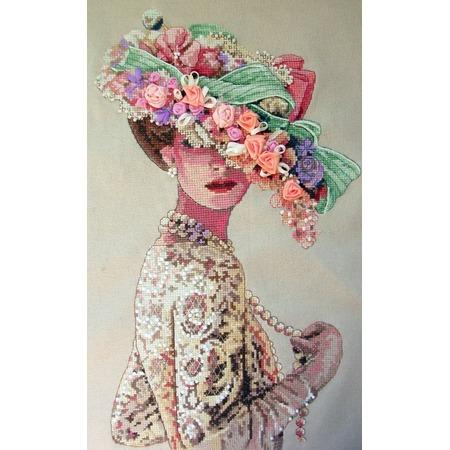 Купить Канва для вышивания Dimensions «Викторианская элегантность»