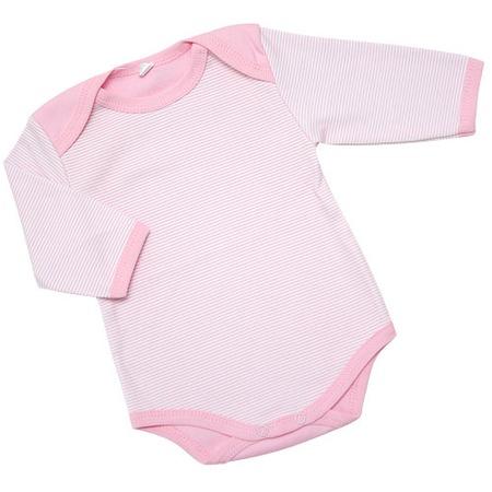 Купить Боди IDEA KIDS «Весёлые полосатики». Цвет: розовый