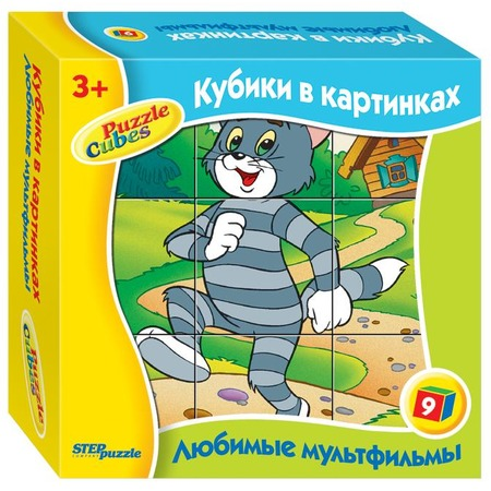 Купить Кубики развивающие Step Puzzle «Любимые мультфильмы-4»
