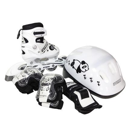 Купить Роликовые коньки с комплектом защиты и шлемом ATEMI AJIS-12.08 Panda