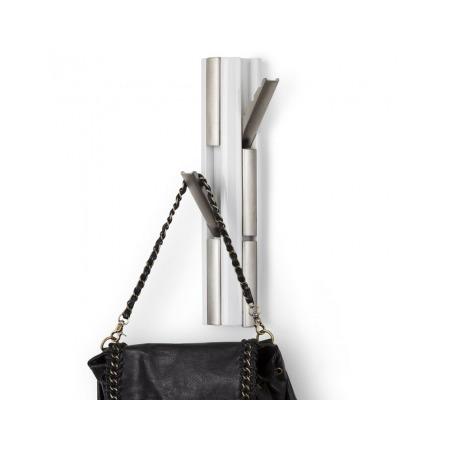 Купить Вешалка настенная вертикальная c 6-ю крючками Umbra Flip Nickel
