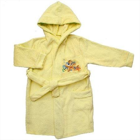 Купить Халат детский Мир 681Т87. Цвет: желтый