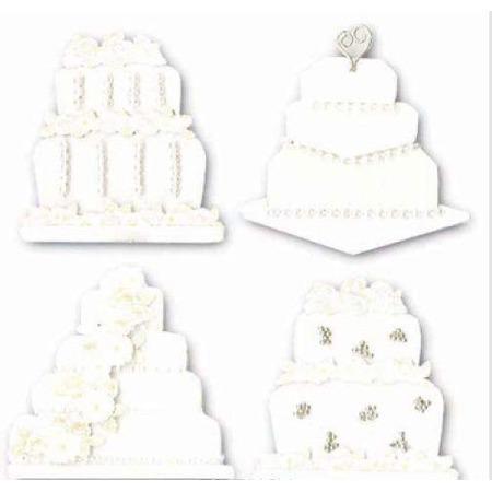 Купить Стикеры ЗD EKSuccess Tools «Свадебные торты»