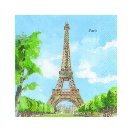 Купить Салфетки бумажные для декупажа IHR «Париж»