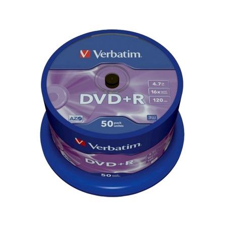 Купить Набор DVD+R дисков Verbatim 43550