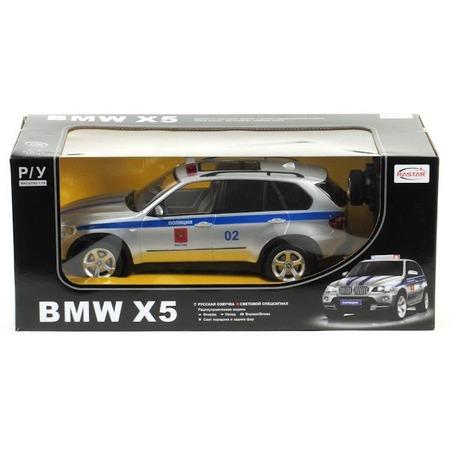 Купить Машина на радиоуправлении Rastar BMW X5 полицейская