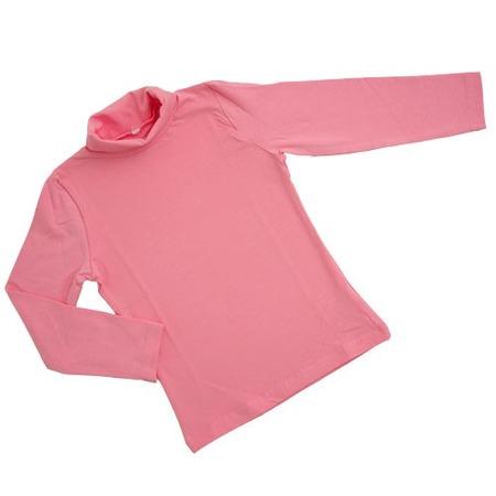 Купить Водолазка для девочек Валентина Стиль «Классика - ДК». Цвет: розовый