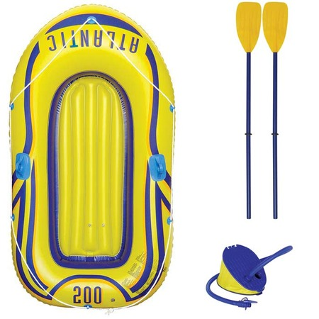 Купить Лодка надувная Atlantic с вёслами и насосом JL000400