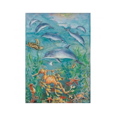 Купить Бумага для декупажа Finmark Decoupage «Дельфины и морской конек»