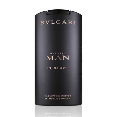 Купить Шампунь и гель для душа мужской BVLGARI Man in black