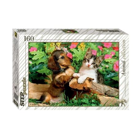Купить Пазл 160 элементов Step Puzzle Верные друзья!