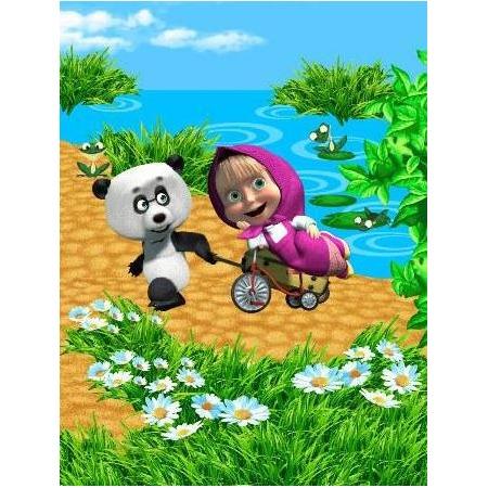 Купить Полотенце детское Непоседа «Панда в гостях»