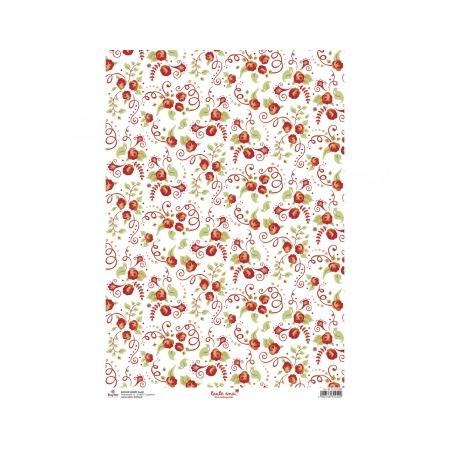 Купить Бумага пергаментная Rayher «Розы»