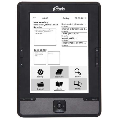 Купить Книга электронная Ritmix RBK-610