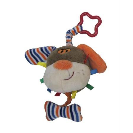 Купить Игрушка-погремушка мягкая Coool Toys «Песик»