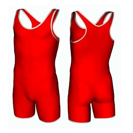 Купить Трико борцовское 6317 красное