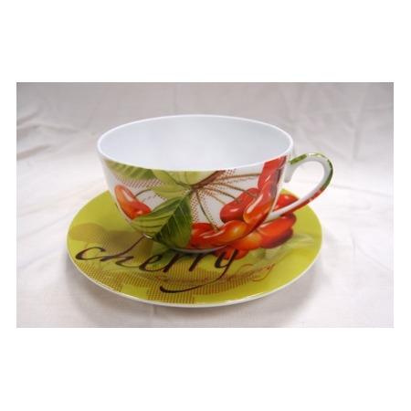 Купить Чайная пара Master «Вишня» в подарочной упаковке «Сердце»