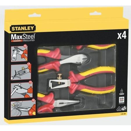 Купить Набор из плоскогубцев и кусачек электрика STANLEY MaxSteel VDE