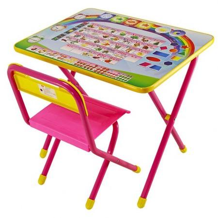 Купить Набор мебели детский: стол и стул Дэми «Алфавит»