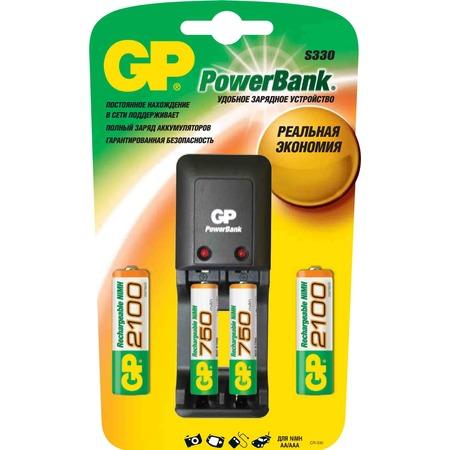 Купить Устройство зарядное GP Batteries PB330GSCW210/75-CR4