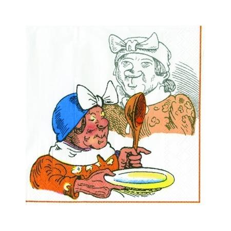 Купить Салфетки бумажные для декупажа IHR «Старушка в чепчике»