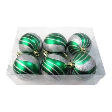 Купить Шары новогодние Irit «Зеленая волна»