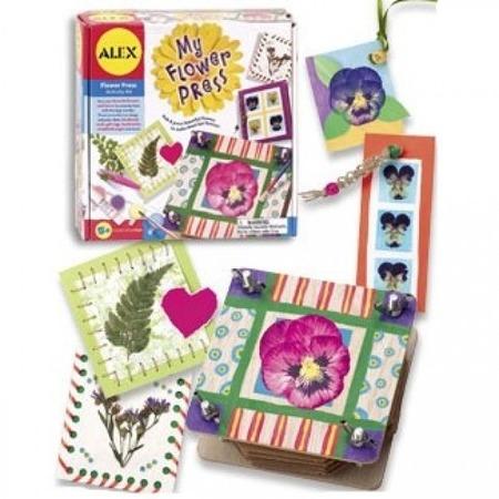 Купить Пресс для гербария и набор для оформления подарков ALEX